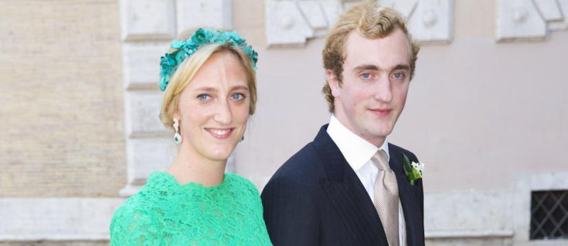 Joaquín y María Laura de Grecia